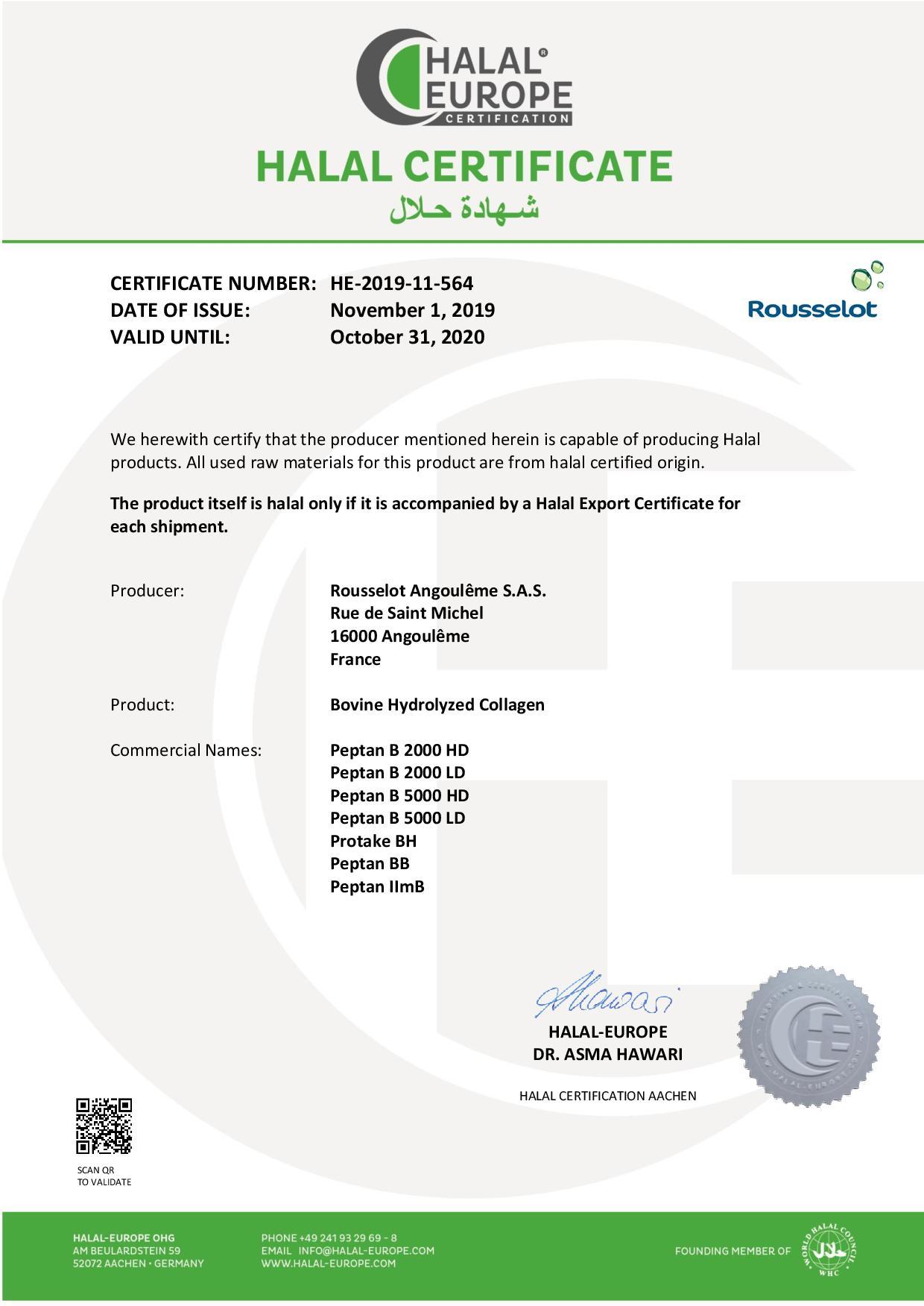 HE_Halal-Certificate_Rousselot_Bovine-Hydrolyzed-Collagen_2019-11-564-page-001