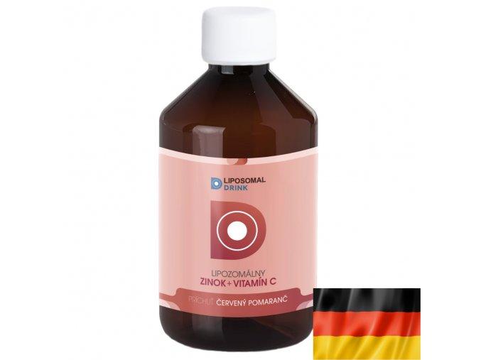 LiposomalDrink zinok s vitamínom C