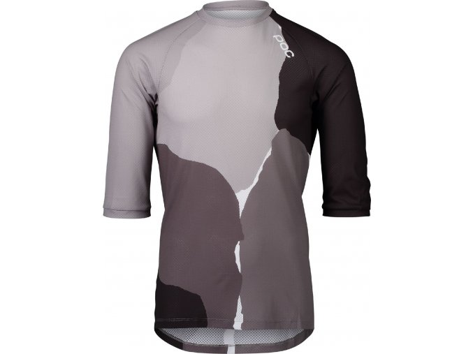 POC MTB Pure 3/4 Jersey Color Splashes Multi Sylvanite Grey