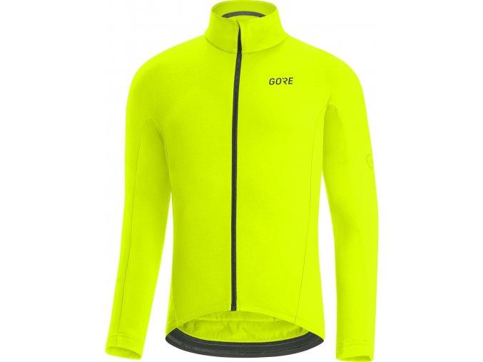 Bunda GORE C3 Thermo Jersey Neon Yellow