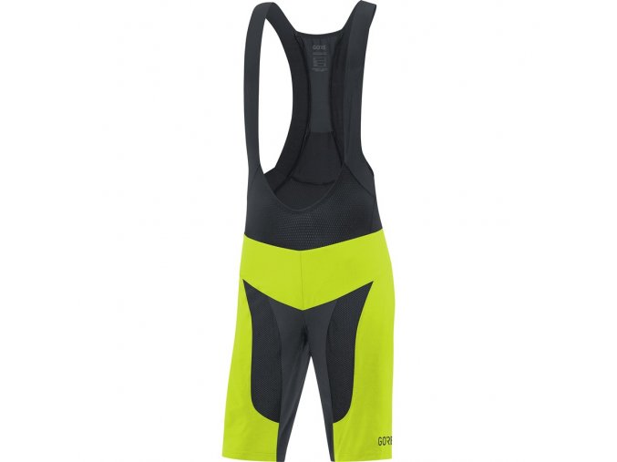 GORE C7 Pro 2in1 Bib Shorts+ citrus green black