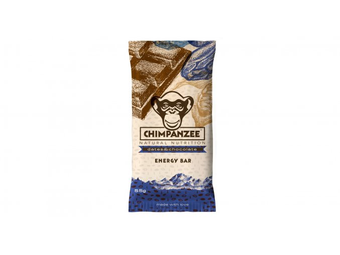 CHIMPANZEE Energy Bar Dates/Chocolate 55g