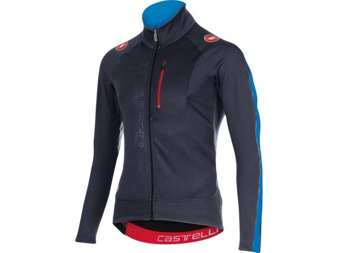 Castelli Trasparente 3 Wind Jersey Medium BlueBlack 619399