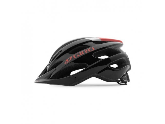 Giro Revel Barva: Black/Bright red side