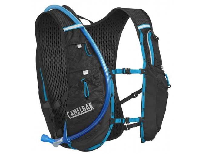 CAMELBAK Ultra 10 Vest Barva: Black/Atomic Blue front