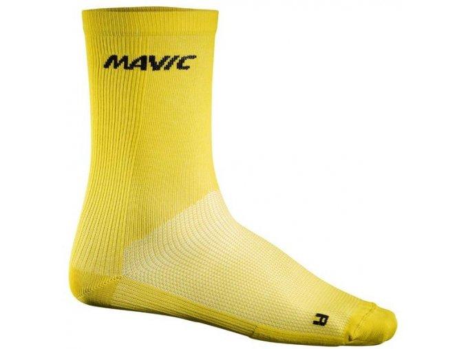 Mavic Cosmic High Sock yellow