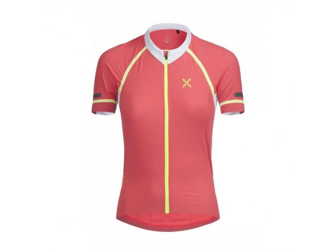 Montura Quarzo Full Zip T-Shirt Woman front