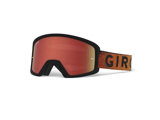 GIRO Tazz MTB Black Red Hypnotic Amber Clear