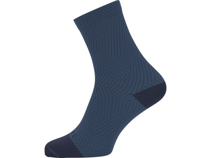 GORE C3 Mid Socks orbit blue deep water blue