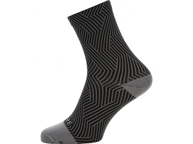 GORE C3 Optiline Mid Socks graphite grey black
