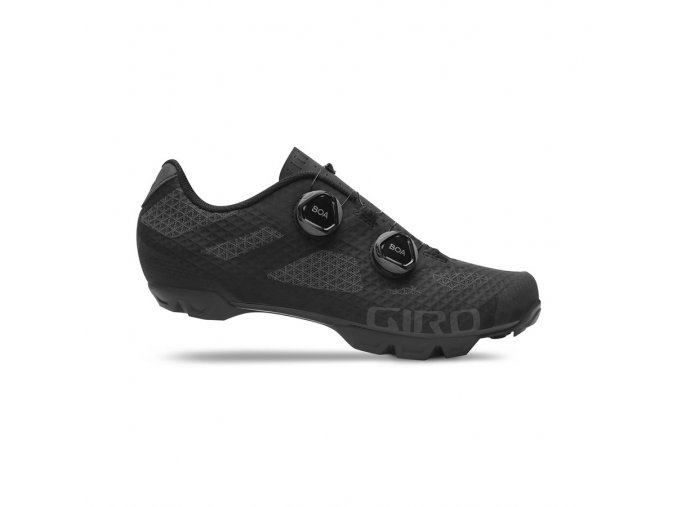 GIRO Sector Black Dark Shadow