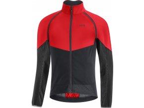 GORE Wear Phantom Jacket Mens Terra Red/Black