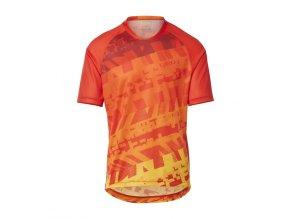 GIRO Roust Jersey Red Orange Fanatic 1