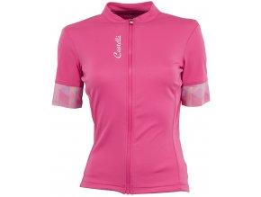 Castelli Anima 2 jersey FZ pink