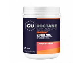 GU Roctane DrinkMix Canister 12Serv Tropical Fruit