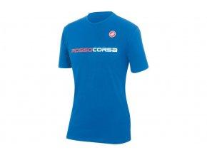 castelli rosso corsa tshirt drive blue EV228311 5000 1