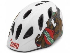 GIRO Rascal S/M mat white california bear_1