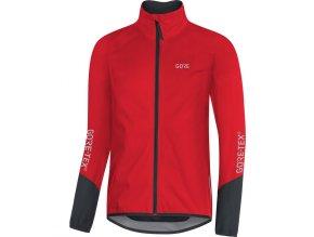 GORE C5 GTX Active Jacket-red/black front