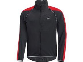 GORE C3 WS Phantom Zip-Off Jacket-black/red front