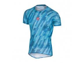 Castelli Pro Mesh Short Sleeve sky blue front