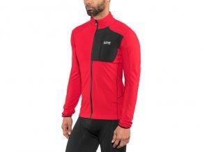 GORE WEAR C5 Thermo Trail Jersey Herren red black[640x480]