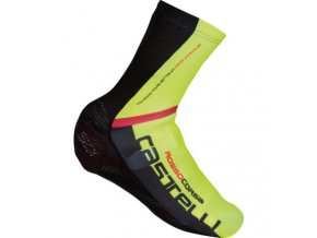 Castelli Aero Race Over Shoes Overshoes Black Yellow Clearance CS160313212