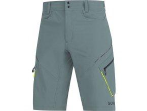 gore c3 trail shorts nordic blue front