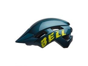 BELL Sidetrack II Child Blue Hi Viz