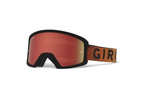 GIRO Tazz MTB Black Red Hypnotic Amber Clear