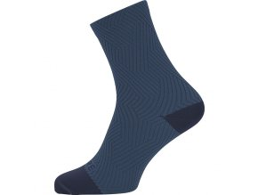 GORE C3 Mid Socks orbit blue deep water blue