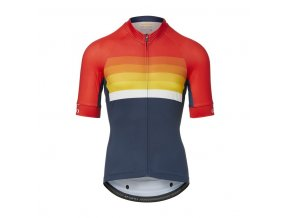 GIRO Chrono Expert Jersey Bright Red Horizon