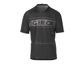 GIRO Roust Jersey Black Charcoal Hypnotic