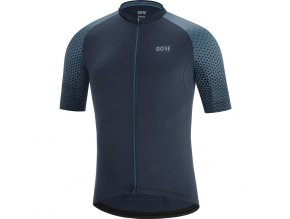 GORE C5 Cancellara Jersey orbit blue deep water blue