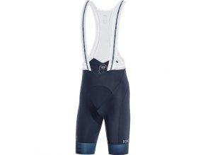 GORE C5 Cancellara Bib Shorts+ orbit blue deep water blue