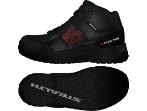 Boty Five Ten Impact High Black/Red