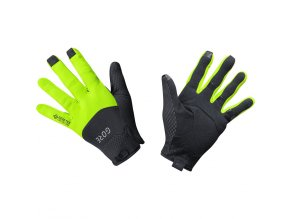 GORE C5 GTX Infinium Gloves black neon yellow