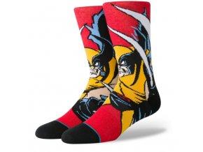 STANCE Xmen Wolverine red 1