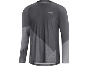 GORE C5 Trail long sleeve dark graphite grey graphite gray 2