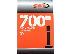 """Duše CST 28""""x1.40-1.70 (37/45-622) AV/33mm"""