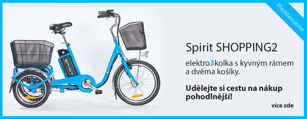 Elektrotříkolky SPIRIT