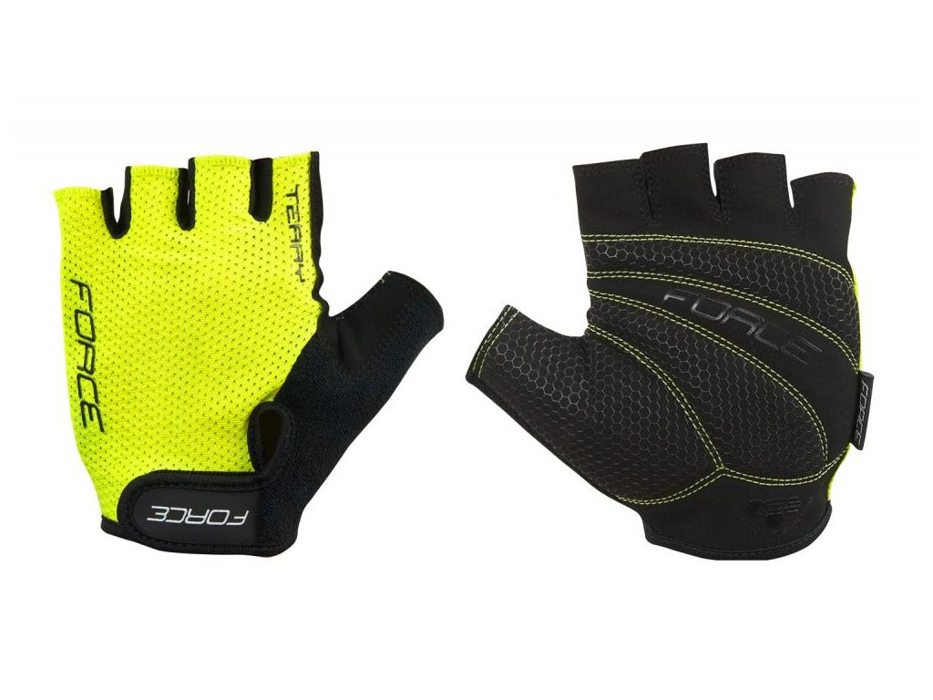 RUKAVICE FORCE TERRY , FLUO