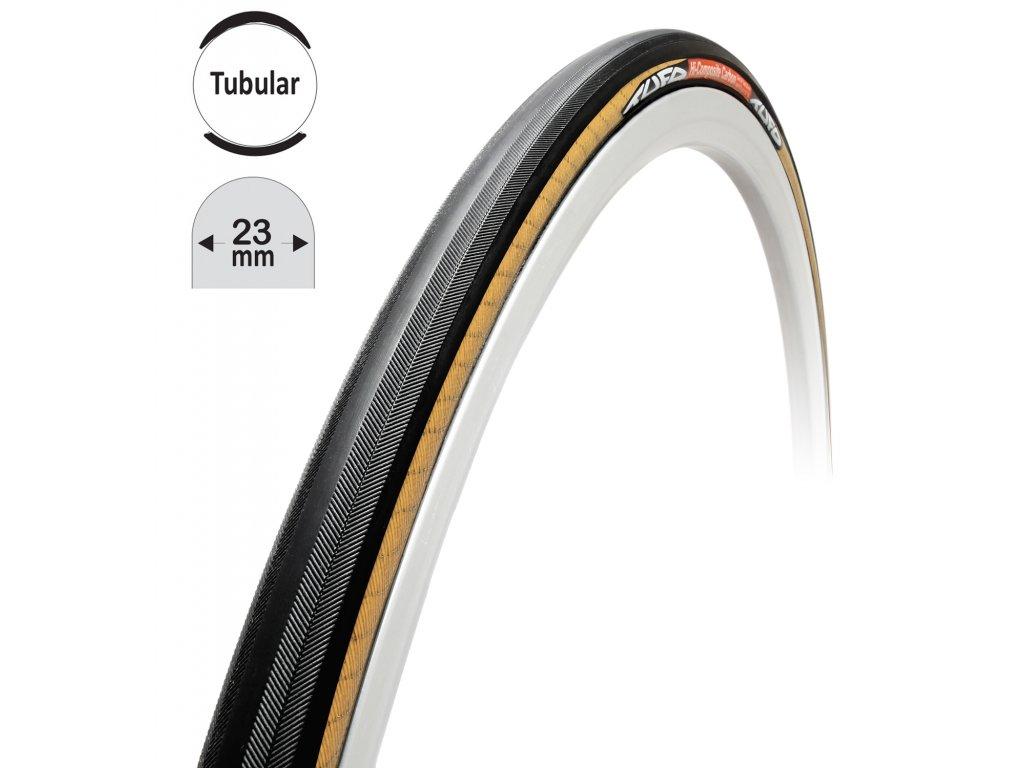 "galuska TUFO HiCC carbon, černo-béžová, 28""/23mm"