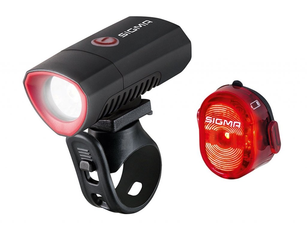 svítilna+blikačka-sada SIGMA BUSTER300/NUGGET II