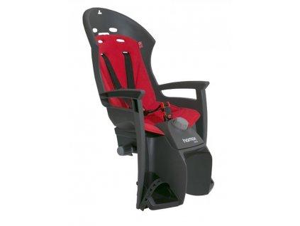 sedačka HAMAX SIESTA PLUS zadní tmavě šedá-červená