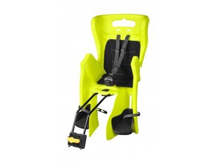 sedačka LITTLE DUCK RELAX zadní fluo REFLEX-černá