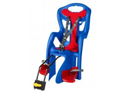 sedačka PEPE STANDARD zadní modro-červená