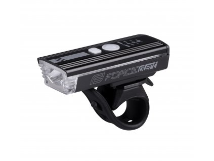 světlo přední FORCE ALERT 350LM USB, černé