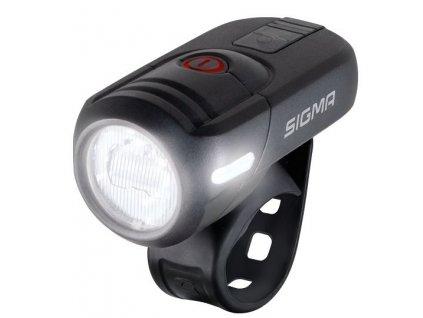světlo přední SIGMA AURA 45 USB, černé