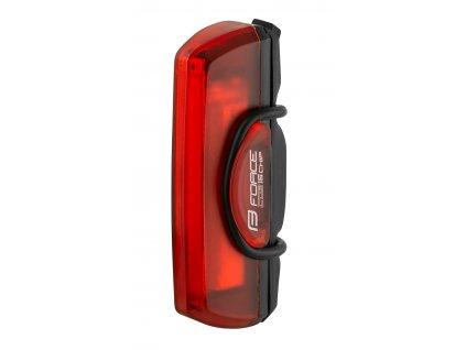 blikačka zadní FORCE COB 29LM, 16x LED, USB