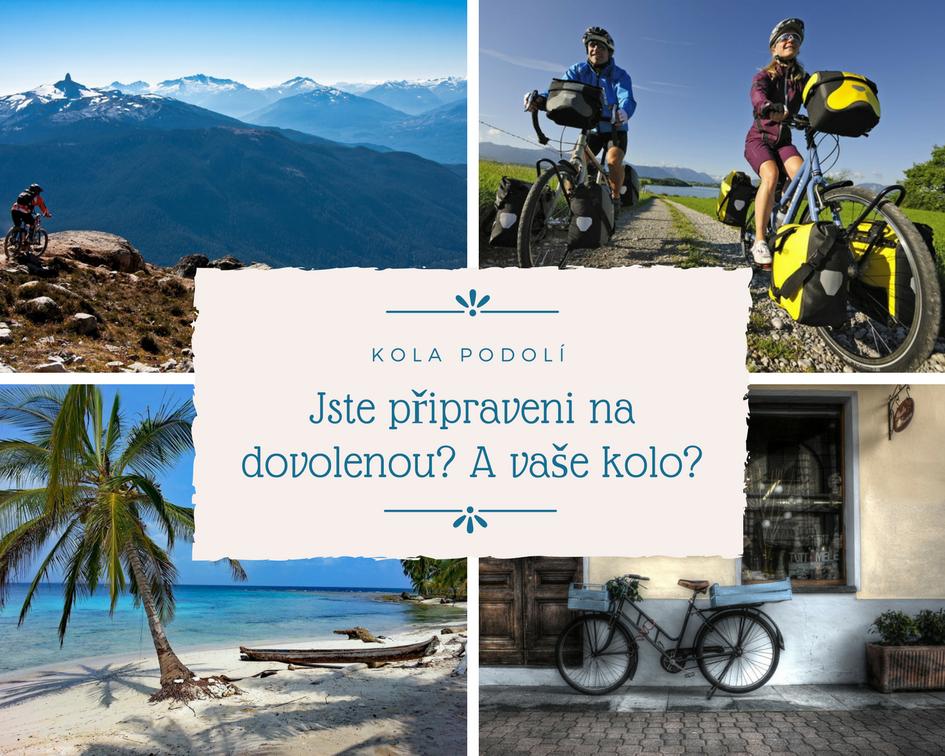Co si vzít na dovolenou na kole?